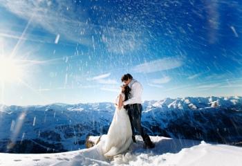Зимняя свадьба: плюсы и минусы