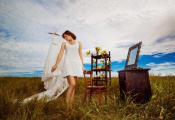 Креативная невеста