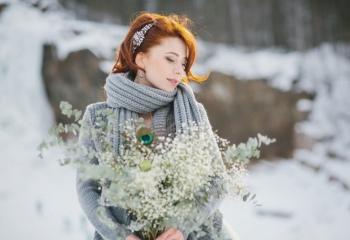 Свадьба зимой: выбираем аксессуары