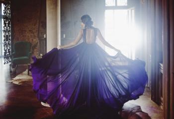 Модный фиолетовый цвет: яркая идея