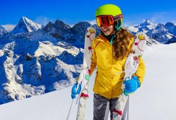В первый раз на горнолыжный курорт