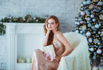Как сшить платье для Нового года