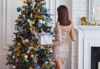Новогодние платья: просто блеск