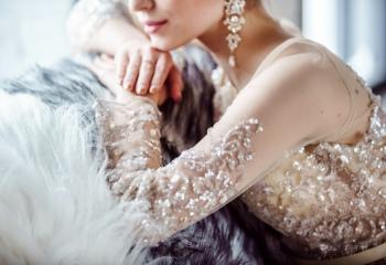 Зимние свадебные платья: что выбрать