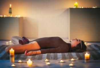 Йога против бессонницы