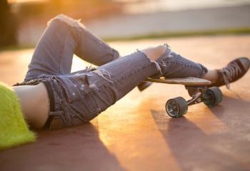 Как порвать красиво джинсы