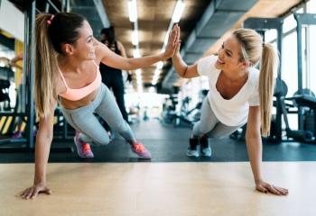 Как похудеть с помощью фитнеса