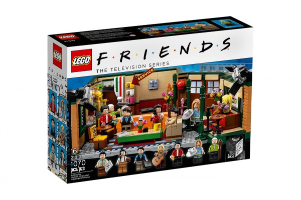 Lego выпустили конструктор в честь 25-летия сериала «Друзья»