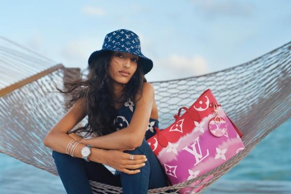 Новая пляжная коллекция Louis Vuitton: фото