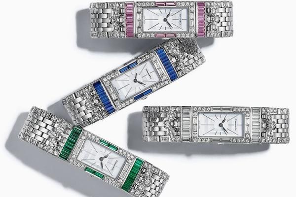 Сто лет спустя: новые драгоценные часы Tiffany