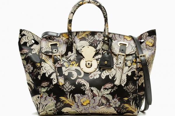 Мини-коллекция сумок из текстиля Ricky Ralph Lauren