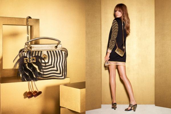 Золотая новогодняя коллекция Fendi