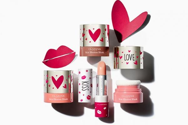 «Заботливая» коллекция макияжа Clarins ко Дню всех влюбленных