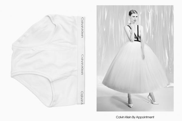 Со своим уставом: кутюрная линия Рафа Симонса Calvin Klein By Appointment