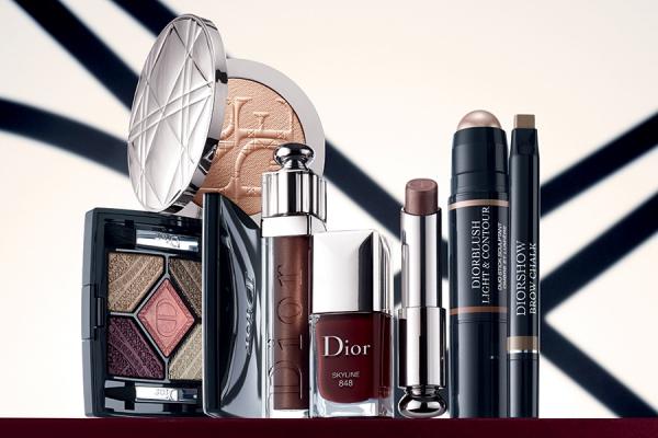 Осенняя коллекция макияжа Dior Skyline