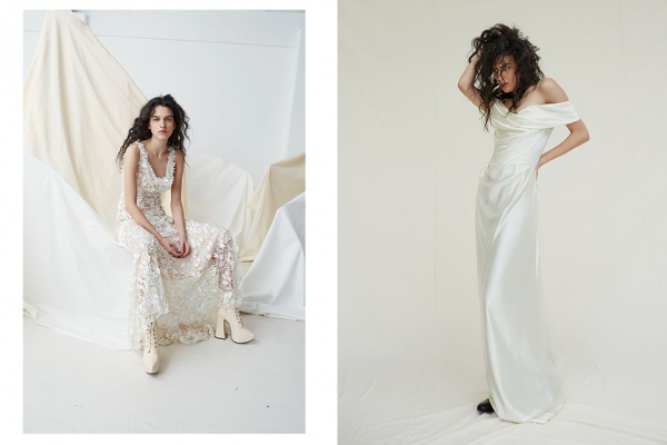 Вивьен Вествуд представила коллекцию свадебных платьев