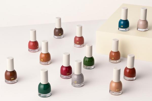 50 оттенков лаков для ногтей в осенней коллекции H&M