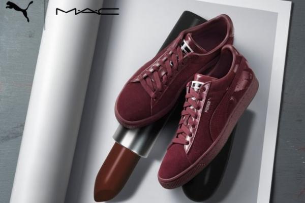 Помада к кроссовкам: совместная коллекция Puma и M.A.C.