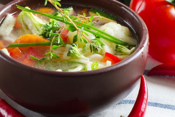 Польза супа: весенние диеты
