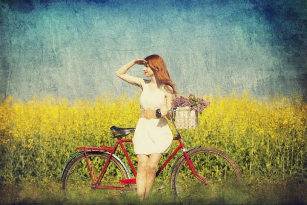 Велоспорт: велосипед для женщин