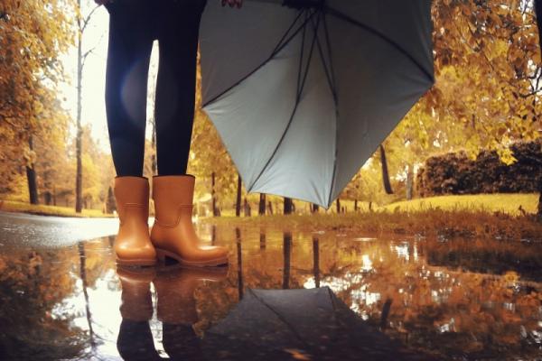 Осень — время резиновых сапог