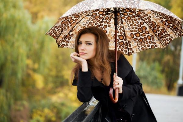 Главный аксессуар осени - модный зонт