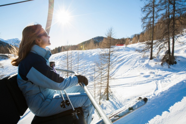 Горные лыжи, или как преодолеть себя