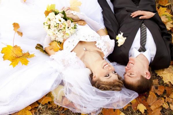Осень - самый красивый свадебный сезон
