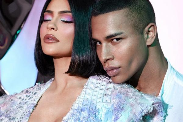Кайли Дженнер и Balmain создали совместную коллекцию макияжа