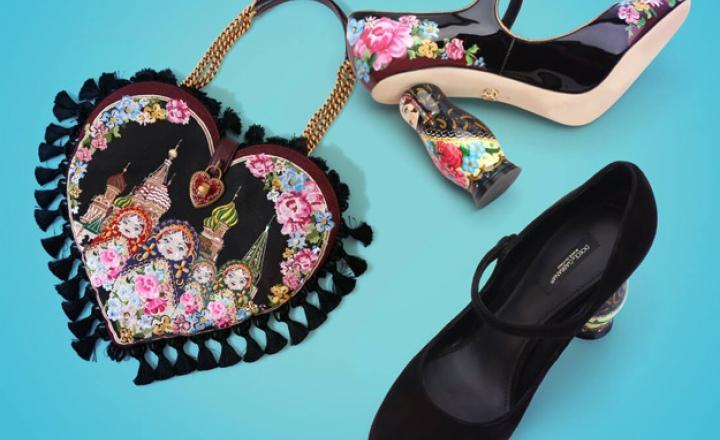 Dolce & Gabbana выпустили капсульную коллекцию в честь России