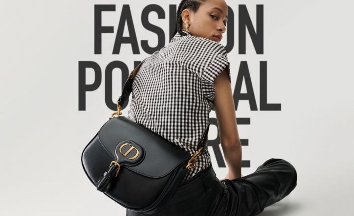 Dior выпустил новую сумку Bobby Bag