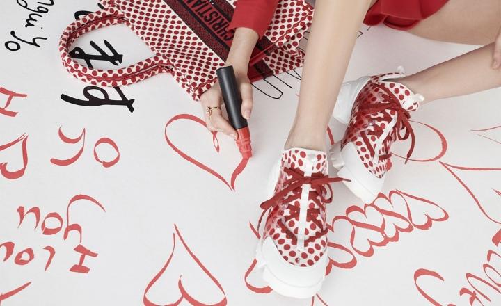 Dior представил милую капсулу в горошек