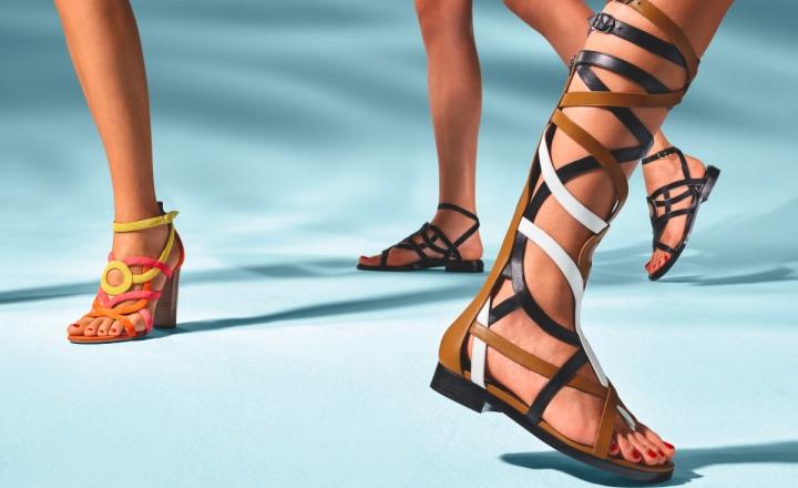 Новая весенне-летняя коллекция обуви Hermès: фото