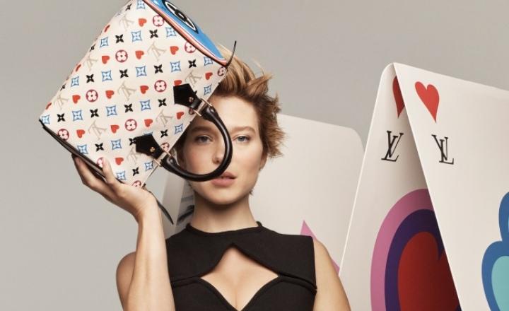 «Карточная» круизная коллекция Louis Vuitton: фото