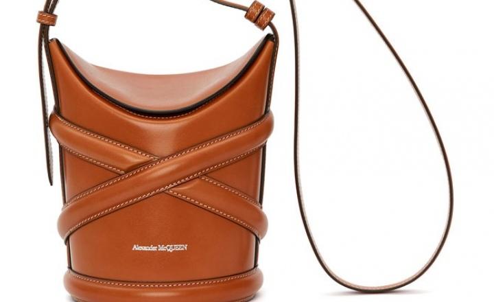 Новые сумки-корзинки Alexander McQueen