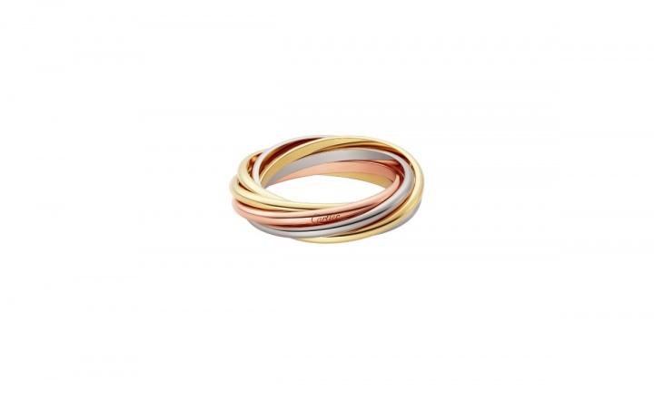 Cartier выпустили новое кольцо Trinity