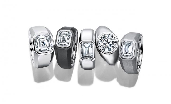 Tiffany & Co выпустили первые обручальные кольца с бриллиантами для мужчин: фото