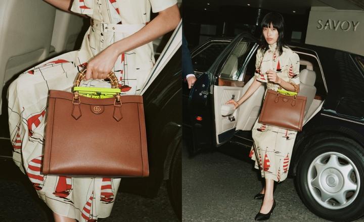 Gucci представили обновленную сумку Diana с бамбуковой ручкой: фото