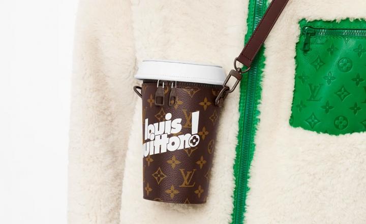 Louis Vuitton представил сумку в виде стаканчика для кофе