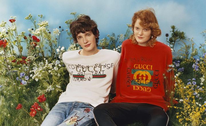 Вандализм как концепция: коллаборация Gucci и художницы Coco Capitán