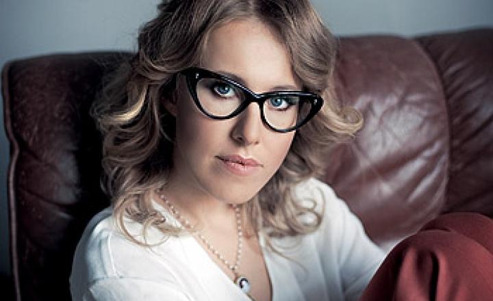 Ксения Собчак возглавила журнал Sex and the City