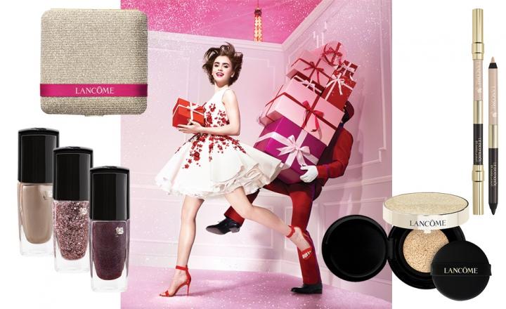 Новогодняя коллекция макияжа Lancôme Paris en Rôse