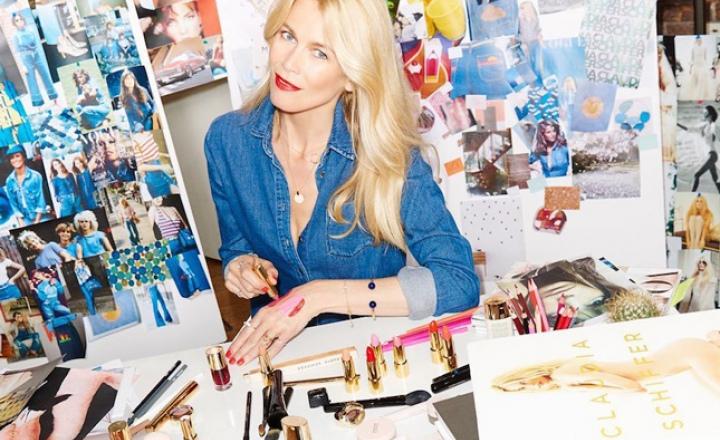 Клаудия Шиффер запускает собственный косметический бренд