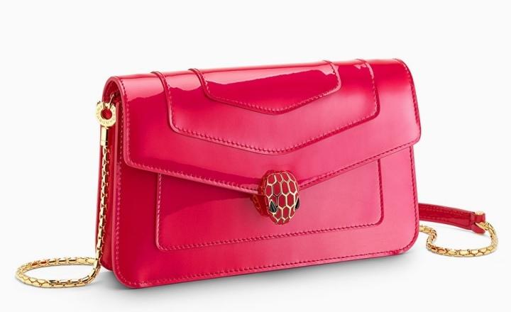 Очень много новых сумок Bvlgari: фото