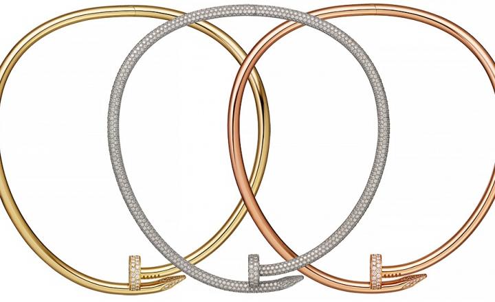 Гвозди Cartier: теперь и колье