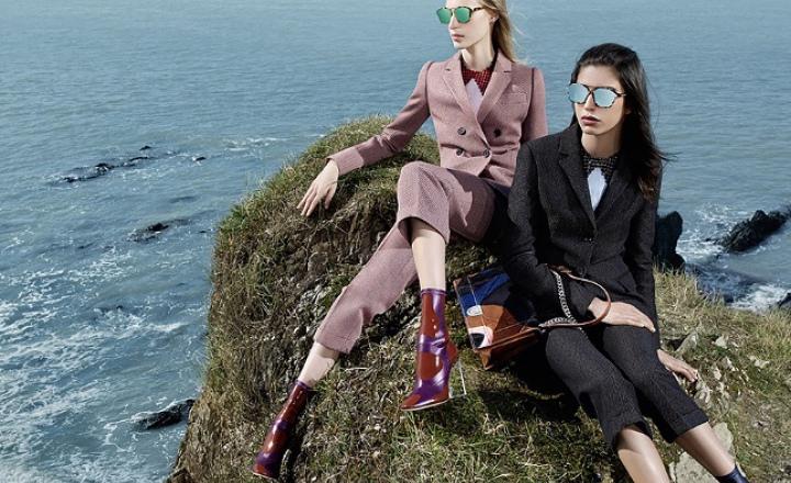 Новые очки Dior Abstract меняют цвет линз в зависимости от угла падения света