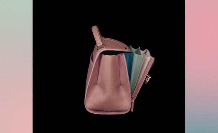 Новая сумка-радуга Salvatore Ferragamo