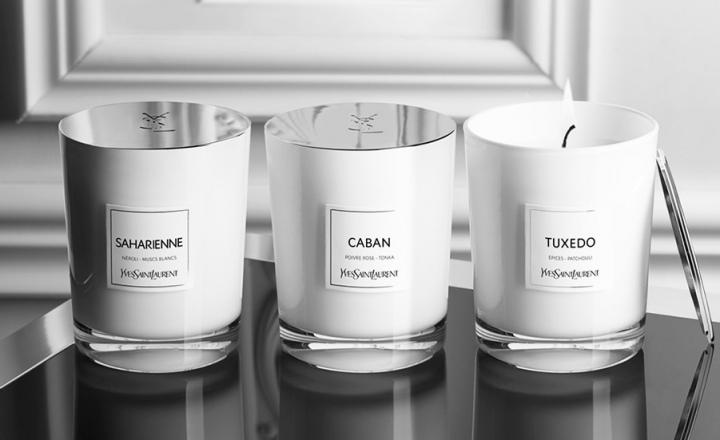 Ароматические свечи для дома Yves Saint Laurent