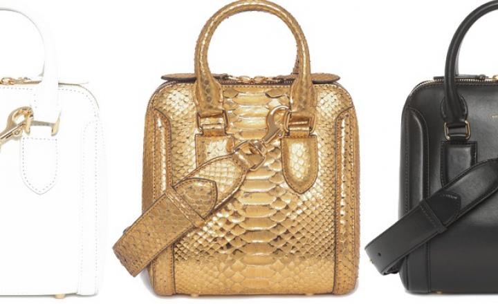 Обновление культовой сумки Alexander McQueen Heroine
