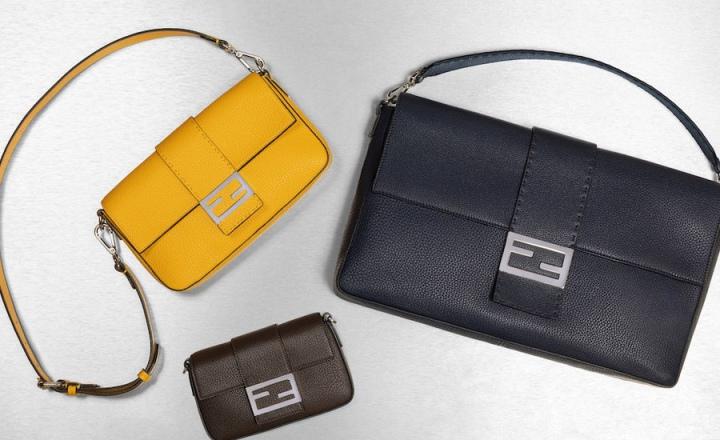 Fendi представили мужскую версию знаменитой сумки Baguette